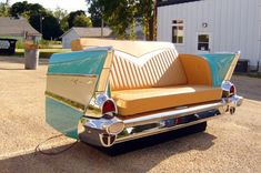 1957 Chevy Bel Air | 17 Quirky Couches Made from Repurposed Materials