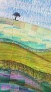 Image result for landscape quilts glitter