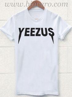 842a96da277cf Yeezus tshirt Kanye West Rock Tour T Shirt