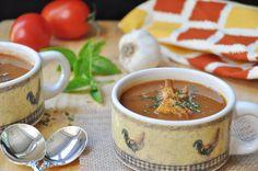 Томатно-базиликовый суп - чудесный рецепт