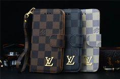 Klassische LV Schutztasche Hülle aus Leder für Iphone6/6plus/7/7plus
