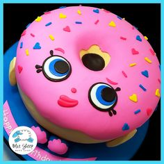 Delish Donut Shopkins Cake NJ