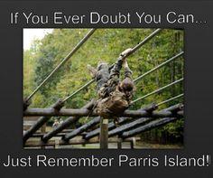 #ParrisIsland #PI #4th #Women #USMC #Motivation #QuoteMe ... I created this meme.