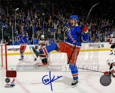 Chris Kreider New York Rangers Signed Autographed 8x10 Goal Celebration by Your Sports Memorabilia Store. $54.99
