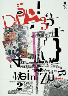 Que tipos!: Dadaísmo Tipográfico