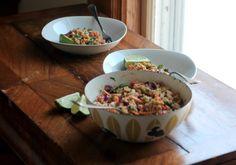 Ambitious Kitchen | Crunchy Cashew Thai Quinoa Salad with Ginger Peanut Dressing {vegan & gluten-free}