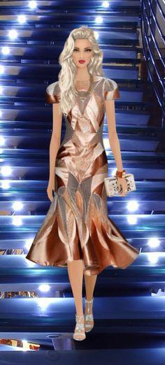 Tech Award Gala Covet Fashion Zimmermann Tamer Dress