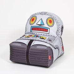Een robot poef? Van Woouf Barcelona. Te koop bij Zizi & Mala!