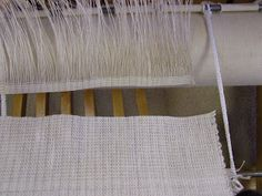 Daisy Hill Weaving Studio: Removing Samples or Projects From a Long Warp