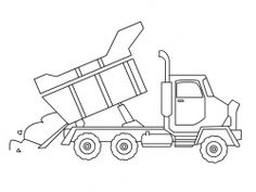 construction trucks coloring pages | crafts and kids | pinterest ... - Construction Truck Coloring Pages