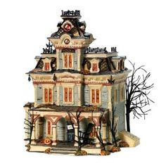 Department 56 Halloween Grimsly Manor - I want all of these!!!!