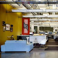 colour coding facebook headquarters interiors