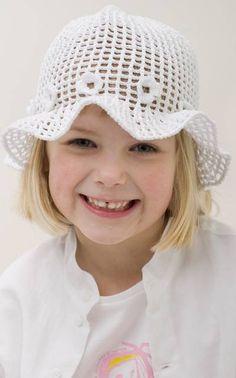 Novita kotiväki: virkattu hattu