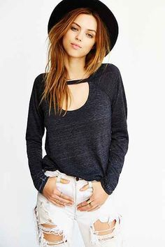 Chaser Vent Shirt-Tail Tee