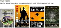 Readers vote for your favorite war book cover today