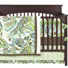 Paisley bedding from target ... Adorable!