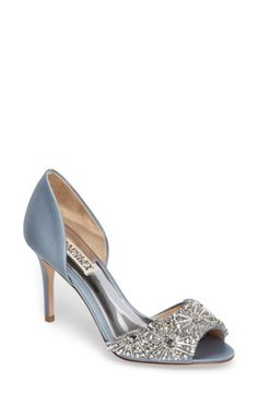 db5f82fee25e BADGLEY MISCHKA WOMEN S BADGLEY MISCHKA MARIA EMBELLISHED D ORSAY PUMP.   badgleymischka  shoes