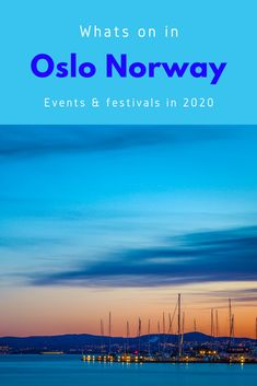 Events and festivals in Oslo, the capital of Norway Mall Of America, North America, Capital Of Norway, Stockholm Shopping, Beach Trip, Beach Travel, Norway Oslo, Budget Travel, Travel Tips