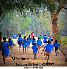 missions=leading the lost to Christ