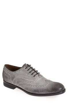 John+Varvatos+Star+USA+'Brogue'+Wingtip+(Men)+available+at+#Nordstrom