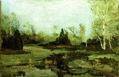 Ion Andreescu Art Database, Landscape Art, Roman, Winter, 15 Februarie, Paintings, Random, Impressionism, Painters