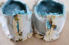 DIY Handmade Fabric Baby Shoes | eHow