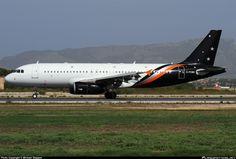 G-POWK Titan Airways Airbus A320-233 photographed at Palma De Mallorca - Son San Juan (PMI / LEPA) by Michael Stappen