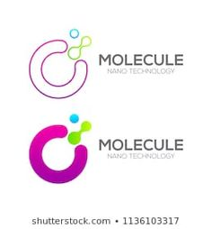 Letter O with Dot and Curve ,Circles form related, Molecule and Nano Technolo… Dot Letters, Nanotechnology, Circle Shape, Circles, Science Online, Logo Design, Dots, Lettering, Logo Ideas