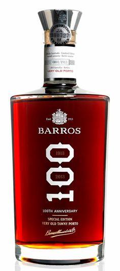 Vinho do Porto Barros - Edição Especial 100 Anos