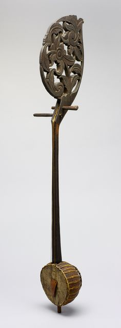 Fiddle (Enserunai or Ensuranai) [Malaysia, Borneo, Sarawak, Sadong River, Iban people] (89.4.2365) | Heilbrunn Timeline of Art History | The Metropolitan Museum of Art