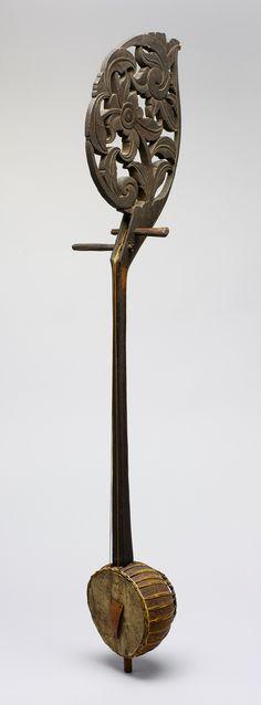 Fiddle (Enserunai or Ensuranai) [Malaysia, Borneo, Sarawak, Sadong River, Iban people] (89.4.2365) | Heilbrunn Timeline of Art History | The Metropolitan Museum of Art