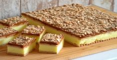 Krispie Treats, Rice Krispies, Tiramisu, Cheesecake, Food And Drink, Pudding, Ethnic Recipes, Lemon, Cheesecakes