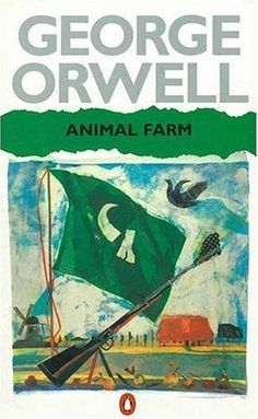 a book report on george orwells novel animal farm Animal farm by george orwell the animals celebrate their victory and change the farm's name to animal farm want to tell the world about a book you've read.