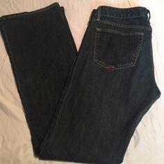 ⭕️Price Drop!⭕️ Gap jeans Great condition gap sexy boot leg jeans, dark denim. GAP Jeans Boot Cut