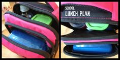 New Nostalgia | School Lunch Plan + Free Printable. How I finally got rid of those baggies!