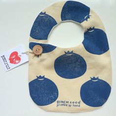Super healthy all round! Hand block-printed organic baby bibs.