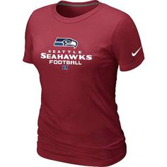 Seattle Seahawks Red Women's Critical Victory TShirt