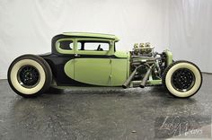 Slick Old School Rod