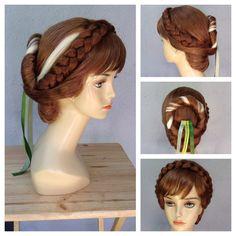 Anna Frozen Coronation Style Adult Costume Wig - A True Enchantment Original (275.00 USD) by littlepennylane