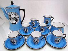 Carlton Ware Gallant AMORY coffee set