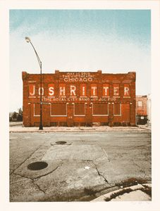 Crosshair Josh Ritter Poster: So many good ones - just picked this one randomly.  Would love them all, actually.