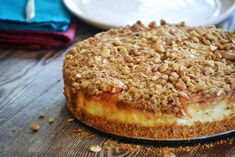 Ingredients:   For the cheesecake:  2 cup graham cracker crumbs  1/2 cup butter, melted  1/4 tsp salt  3 8 oz. cream cheese p...