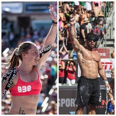"""This week's #FitTheMark: """"Rich Froning and Samantha Briggs win the 2013 #CrossFitGames!"""". Read post through the website provided!"""