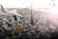 """glimpse of the 2016 Fentress Global Challenge """"Airport of the Future"""" shortlistVertical Hub 