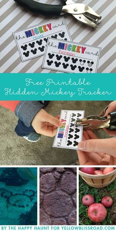 Disneyland Amazing Tips 2019 - Hidden Mickey Tracker Free Printable - Fun for the whole family on your Disney V. Disney Vacation Club, Disney Vacation Planning, Disney Vacations, Disney Trips, Cruise Vacation, Disney Travel, Vacation Ideas, Trip Planning, Disney Diy