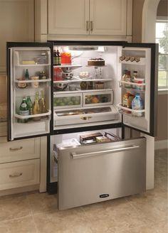 200 Home Maintenance Tips And Repair Ideas You Can DIY. French DoorsKitchen  IdeasKitchen UpdatesKitchen StuffBest Counter Depth RefrigeratorBest ...