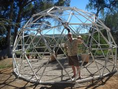 "Norman Burkhart - Customer Reviews of Our 3v 5/8 Geodesic Shelter Dome ""Super Hubs Kit"""