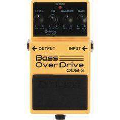 BossODB-3 Bass OverDrive Pedal