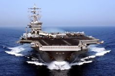 USS Dwight D. Eisenhower in Antalya