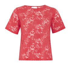 Style, comfort, luxury and perfect for any occasion. Scarlet Love Lace T-shirt from Sukishufu…